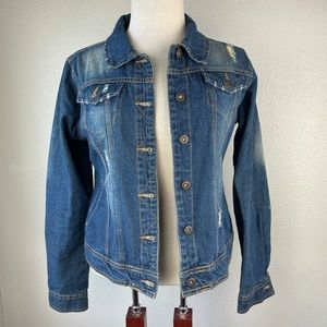 Old Navy Denim Jacket Size M EUC